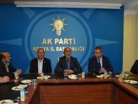 Karatay Belediyesi'nden Ak Parti İl Başkanlığına Ziyaret!