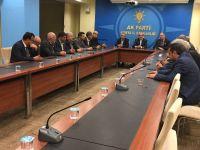 Konya Muhtarlar Derneği Birliği'nden Ak Parti İl Başkanı Hasan Angı'ya Hayırlı Olsun