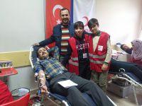 """Konya Türk Telekom Sosyal Bilimler Lisesi'nden, """"Bir Teneffüste Üç Can Kurtaralım"""" Kan Bağışı Kampanyası!"""
