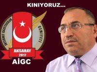 Aksaray İnternet Gazeteciler Cemiyetinden Kınama