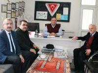 Murat Günaydın internet Gazetecileri Cemiyetini Ziyaret Etti