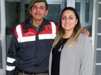Jandarma Karakoluna anlamlı ziyaret!