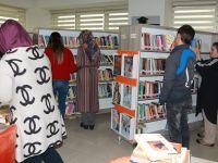 Karatay İlçe Halk Kütüphanesi'ne Yoğun İlgi