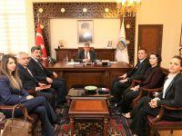 İyi Parti Yönetim Kurulu'ndan Vali Pekmez'e ziyaret