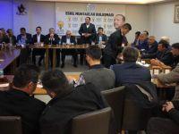 Eskil AK Parti Teşkilatı Köy ve Mahalle Muhtarları İstişare Toplantısı Yaptı