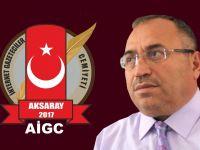 Aksaray İnternet Gazeteciler Cemiyeti Başkanı Mustafa Avcı  10 Ocak Çalışan Gazeteciler  Günü mesajı!