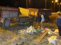 Sultanhanın'da Traktör Kazası 1 Ağır Yaralı!