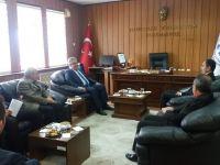 Vali Aykut Pekmez kurum ziyaretlerinde bulundu