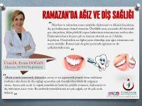 Ramazan'da Ağız ve Diş Sağlığı
