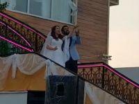 Eczacılar İzzettin ile Bilgenaz evlendi