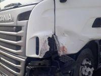 Eskilli Şoför Afyon'da kaza yaptı