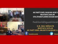 Mustafa Zavlak STK Ziyaretlerini devam ediyor