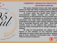 Milletvekili Aydoğdu'nun, 29 Ekim Cumhuriyet Bayramı Mesajı