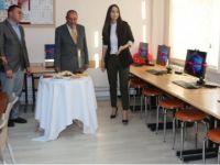 Eskil Taşkapı Ortaokulunda Robotik Kodlama atölyesinin açılışı yapıldı