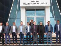 Zavlak'tan ATSO Başkanı Göktaş'a ziyaret