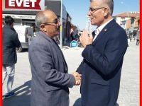 Güdendede Bağımsız İl genel meclis üyesi adayı olarak Eskil'de Farklı Bir Seçim Çalışması Yürütüyor