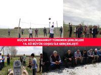  Küçük Bozcamahmut Türkmen şenlikleri 14. sü büyük coşku ile gerçekleşti