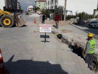 Eskil Merkez'de Bozcamahmut Yolu trafiğe kapatıldı