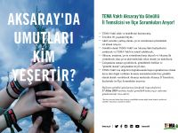TEMA Vakfı Aksaray'da Gönüllü İl Temsilcisi ve İlçe Sorumluları Arıyor!