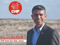"""Cavit Altan, """"CHP Eskil İlçe Başkanlığına  adaylığını açıkladı"""""""