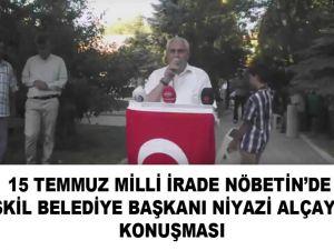 Başkan Alçay'dan Duygulu ve coşkulu konuşma